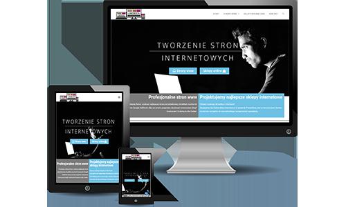 Tworzenie stron www sklepów internetowych Jarocin poligrafia WebDer.pl